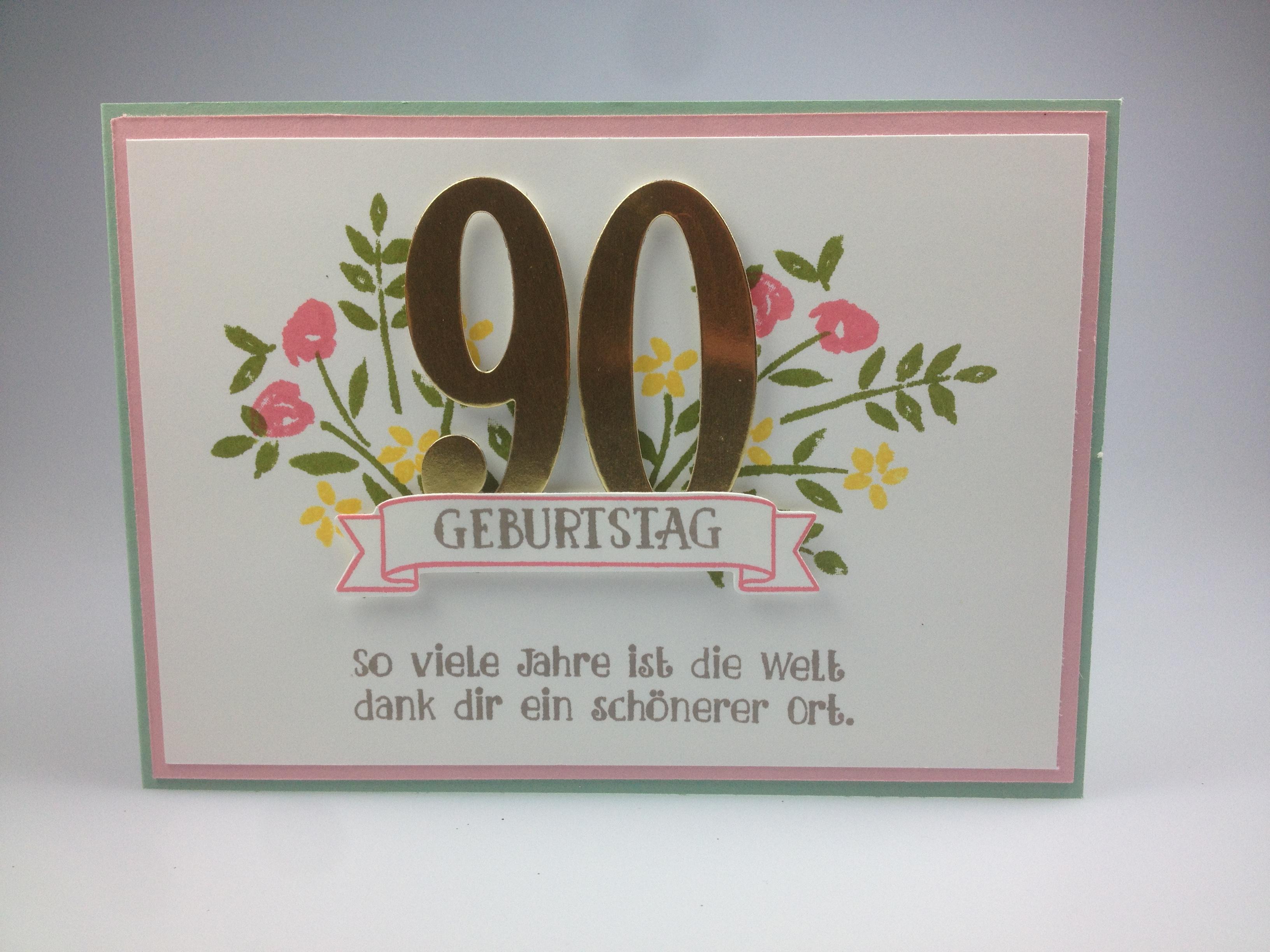 Zum 90 Geburtstag